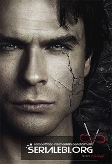 ვამპირის დღიურები სეზონი 8 ქართულად / vampiris dgiurebi sezoni 8 qartulad